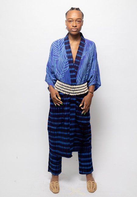 Unisex Studio One Eighty Nine Silk/Cotton Midi Kimono