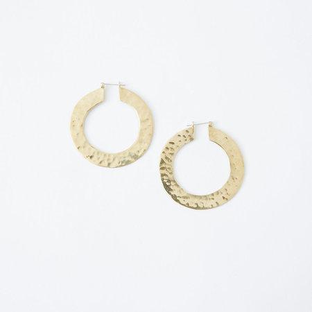 Crescioni sol earrings