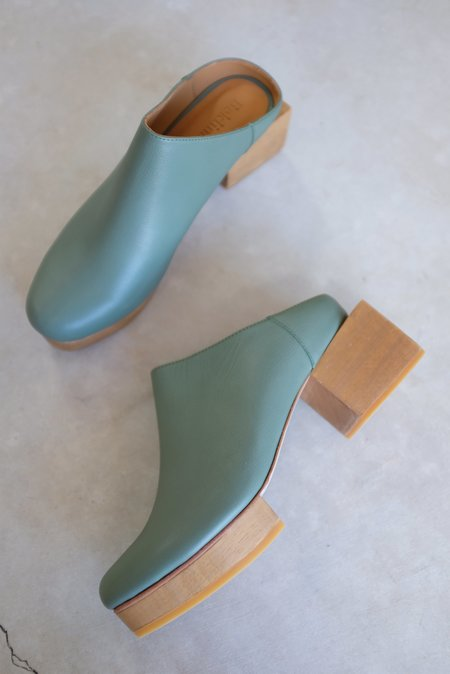 Beklina Matisse Platform Mules - Flora