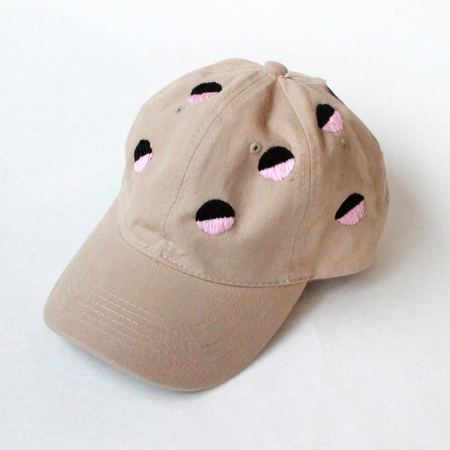 Unisex HOOPS Embroidered Caps