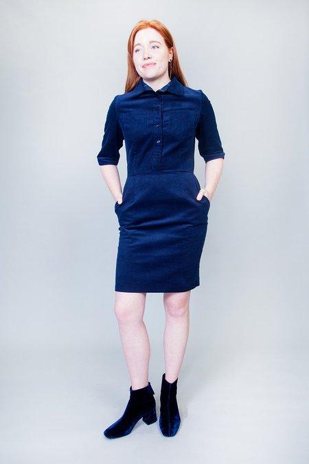 Jennifer Glasgow Heart Dress - Navy