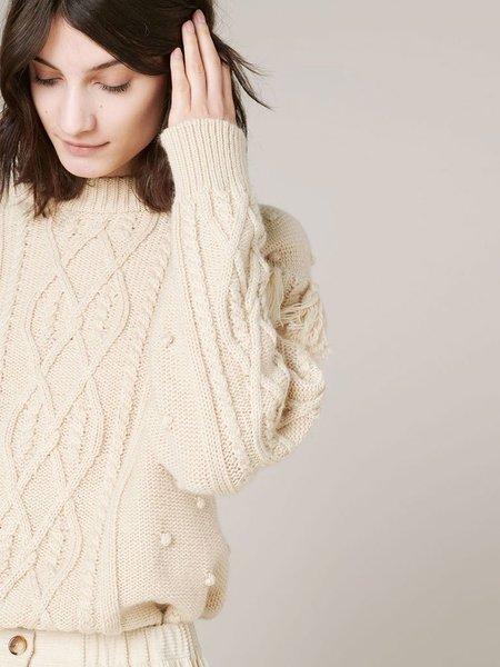 Sessun Cork Knit - Sandshell