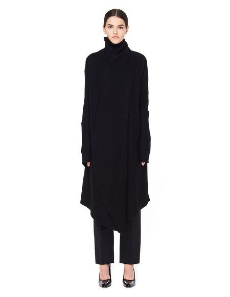 Leon Emanuel Blanck Alpaca Wool Cardigan - Black
