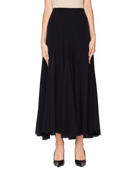 Haider Ackermann Silk Flared Skirt - Black
