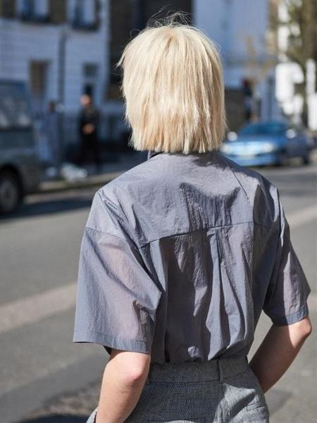 Greyyang Rustle Nylon Shirt - Grey