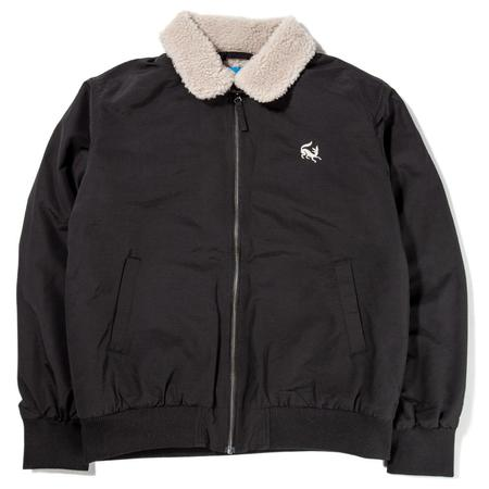 by Parra Scared Fox Topper Harley Jacket - Black