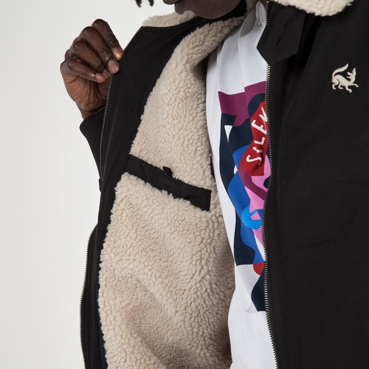 by Parra Scared Fox Topper Harley Jacket - Black  bfe93db55