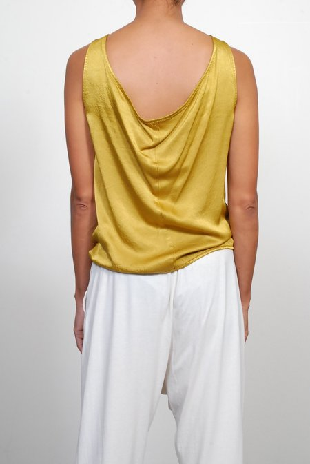0bb790ce99997 Raquel Allegra Open Back Top - Gold ...