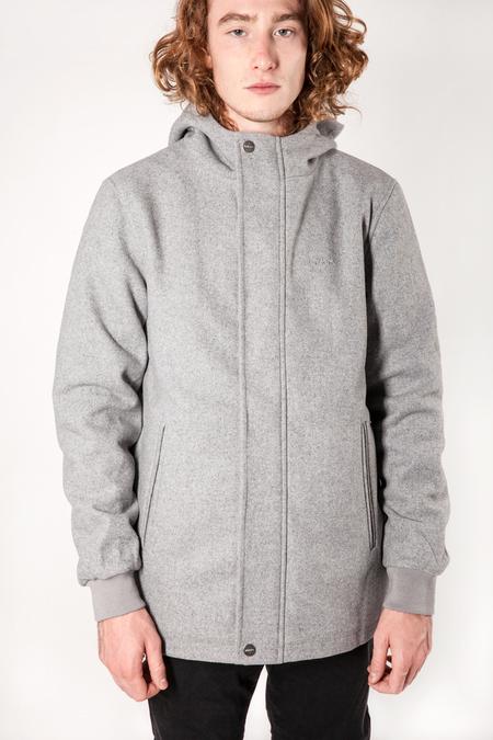 Wemoto Dust Short Parka Jacket - Grey