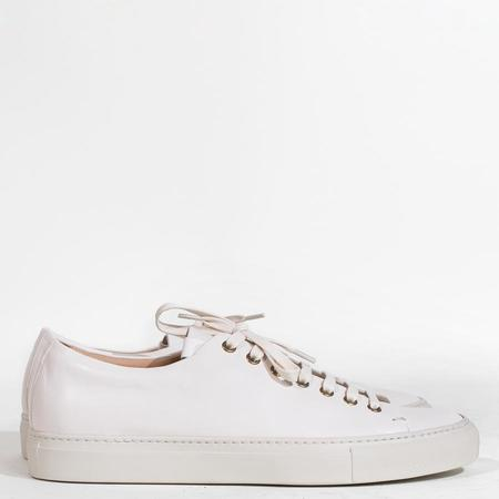 Buttero Tanino Leather  Low Sneakers - White