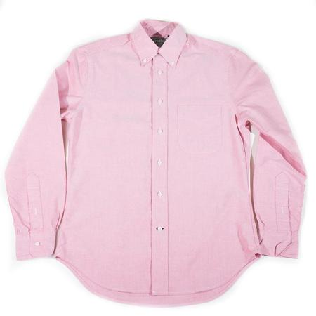 Gitman Vintage Oxford Button Down Shirt - Salmon