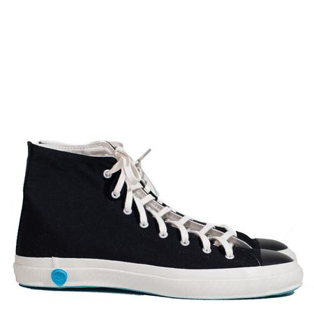 Shoes Like Pottery High Top Vulcanized Canvas Sneaker - Black