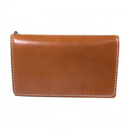 Tanuki - Chestnut Shell Cordovan Long Wallet