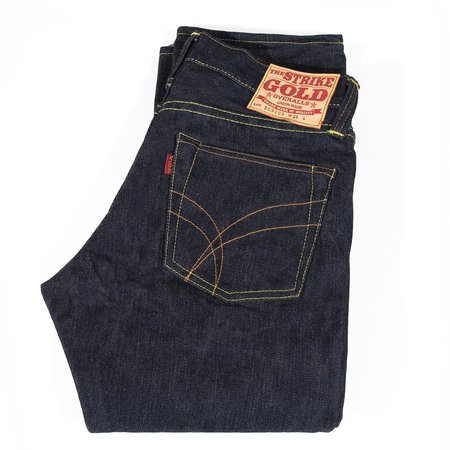 The Strike Gold Left Hand Twill Super Tight Straight Jeaan