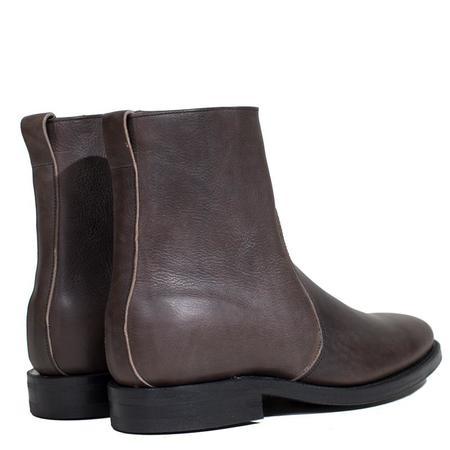 Viberg 2050 Last Sidezip boot - Dust Calf