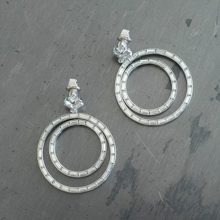 Carole Tanenbaum Vintage Collection 1950s 2-Loop Earrings