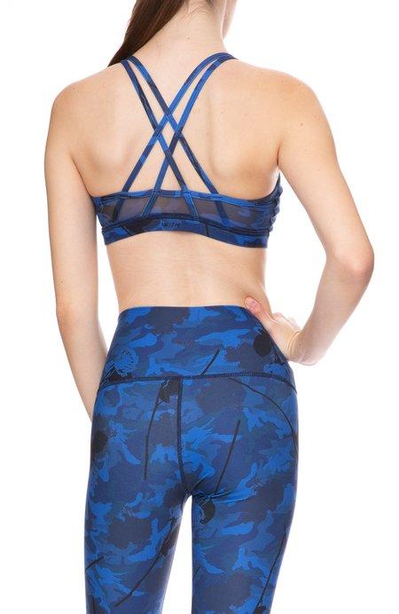 Wear It To Heart Strappy Back Bra - Sapphire Camo