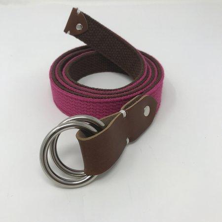 MAGILL James Belt - Pink/Brown