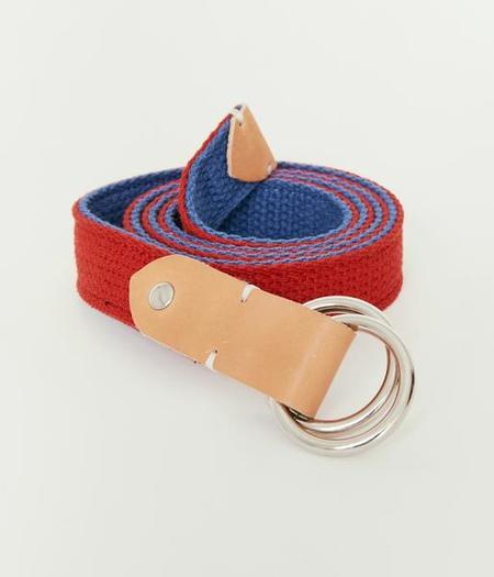Unisex MAGILL James Belt - Red/Royal