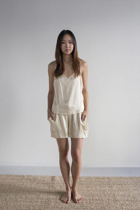 Hannayujin Yuna Silk Cami - Pale Gold