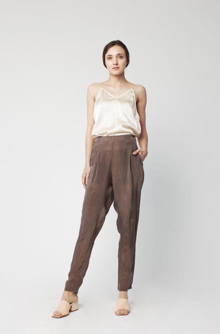 Hannayujin Jiho High Waist Trouser - Lentil