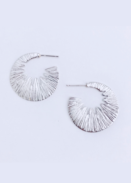 Moran Martine Jaws Hoops Earrings