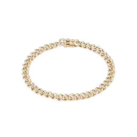 Ariel Gordon Roman Holiday Bracelet - Yellow Gold