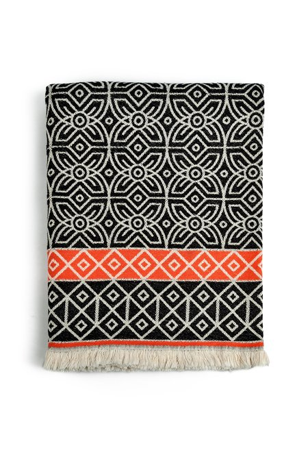 3rd Culture Black Fawohodie Throw