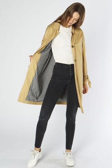all row Homesick for You Trench Coat - Khaki
