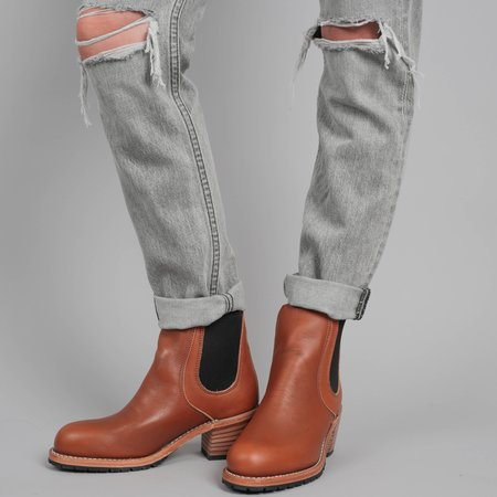 Red Wing Heritage Leather Harriet Boots - Pecan Boundary