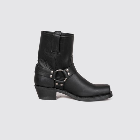 Frye Harness 8R Boots - Black