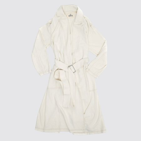 Levi's Made & Crafted Silk Surplus Trench - Ecru