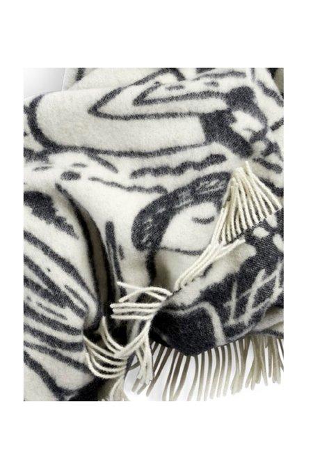 Norden Shore Wool Throw Blanket