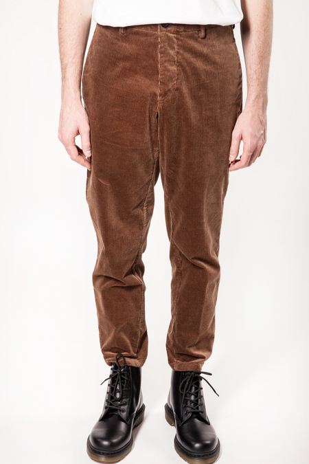 DEPARTMENT.5 George Corduroy Pant - Caramel Brown