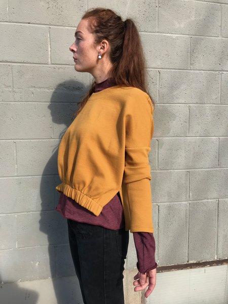 Eve Gravel Long Goodbye top - Mustard
