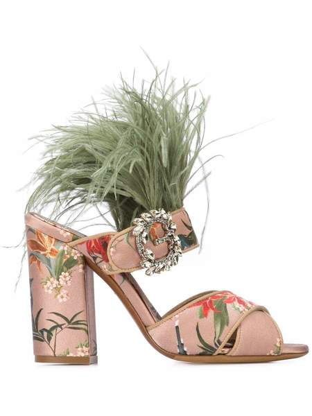 Tabitha Simmons Reyner Block Heel Sandal - Antique Rose