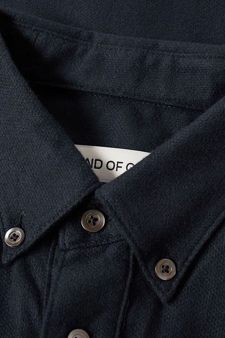 A Kind Of Guise Narayan Shirt - Matt Black