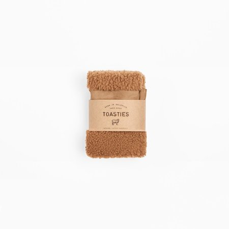 Toasties Fingerless Mittens - Camel