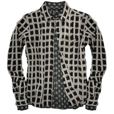 ALTER Berkley Ikat Shirt - Gray