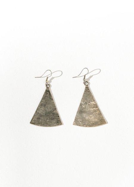 Natalie Joy Antique Laos Triangle Earring