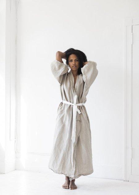 Deiji Studios The 02 Full Length Robe - Natural