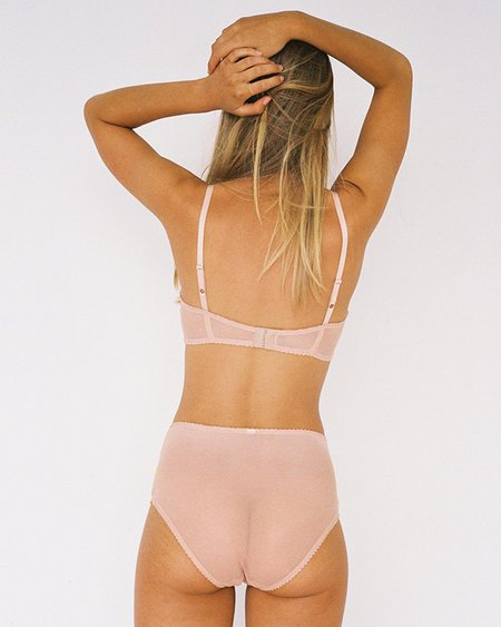 Lonely Lingerie Scout High Waist Brief - Yellow Daisy