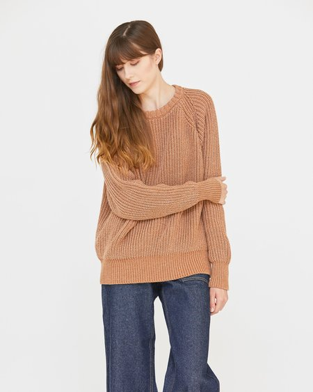 Unisex Esby Andy Fisherman Sweater - Denim Clove