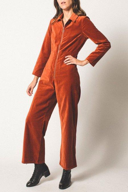 Paloma Wool Velvet Jumpsuit