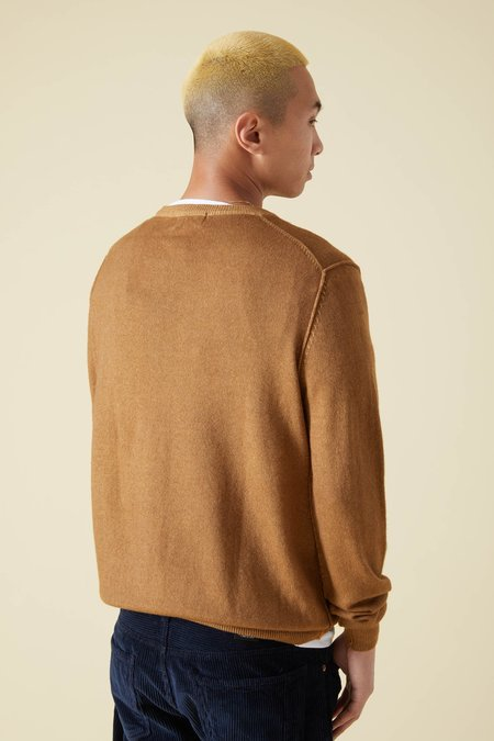 Presidents Wool & Cashmere Crew Sweater - Camel