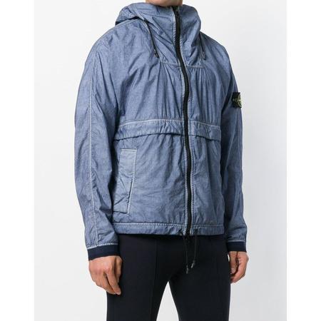 Stone Island Lightweight Hooded Jacket - Light Indigo