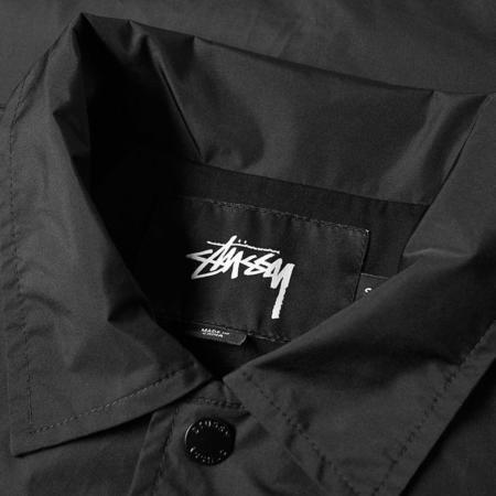 Stussy Cruize Coach Jacket - Black