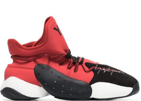 Y-3 BYW BBall Boost Sneaker - Red