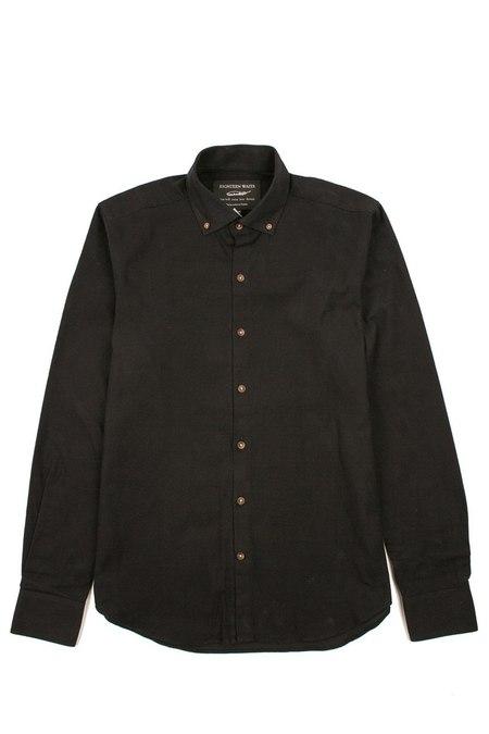 18 Waits Windsor Shirt - Black Flannel