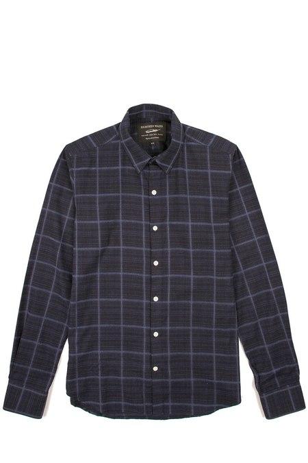 18 Waits Dylan Shirt - Soft Navy Check